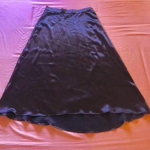 Long Plum Skirt